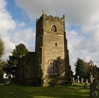 The church, taken from the west